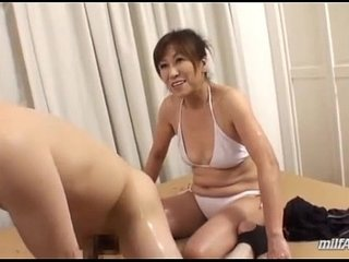 jerking mom